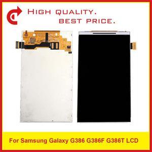 "Image 1 - 10Pcs/Lot 4.5"" For Samsung Galaxy G386 G386F G386T Lcd Display Screen Pantalla Monitor Replacement"