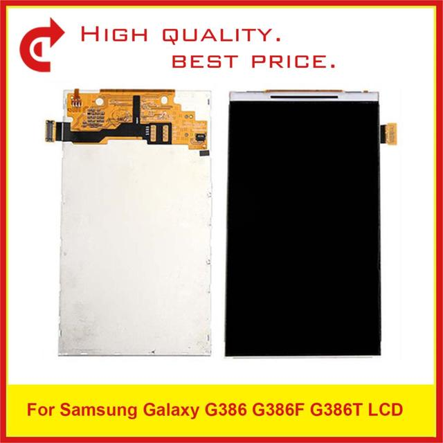 "10Pcs/Lot 4.5"" For Samsung Galaxy G386 G386F G386T Lcd Display Screen Pantalla Monitor Replacement"