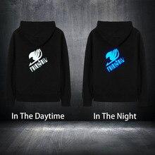 Fairy Tail Black Hoodies Streetwear