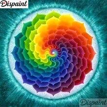 Dispaint Full Square/Round Drill 5D DIY Diamond Painting Mandala scenery 3D Embroidery Cross Stitch Home Decor A11040