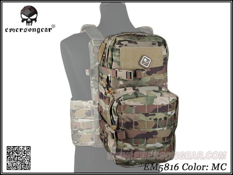 EMERSON gear armée équipement militaire Paintball randonnée guerre jeu sac à dos modulaire assaut Pack w 3L sac d'hydratation EM5816