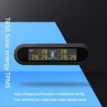 Universal TPMS Tire Pressure Monitoring System Super LCD Display 6 Sensors Autom