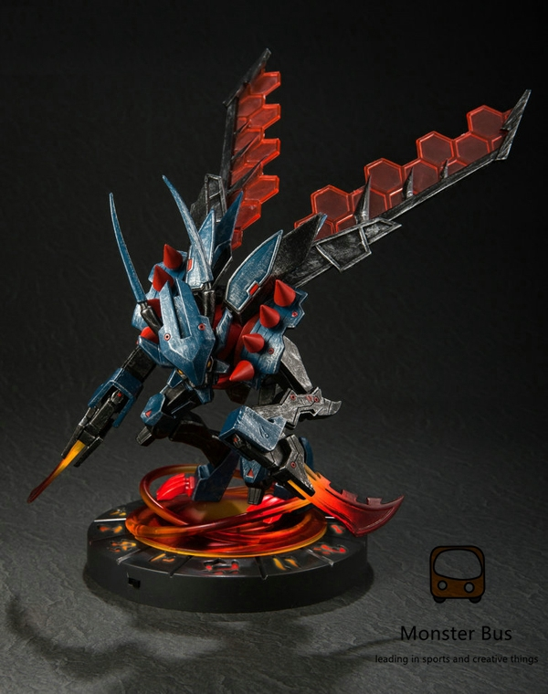 2015 NEW The Void Reaver Kha'Zix/KhaZix/Kha Zix 25 cm PVC Action figure with Led base High quality <font><b>ALIEN</b></font> Christmas Gift image