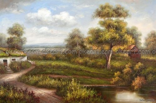 Popular Oak Tree Painting-Buy Cheap Oak Tree Painting Lots