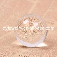 50mm beautiful K9 clear quartz crystal ball top quality clear quartz ball for home decoration