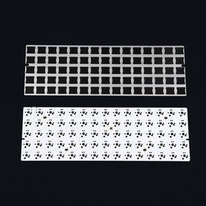 Image 2 - Idobo 75 Keys Ortholinear Layout QMK Anodized Aluminum Case Plate hot swappable Hot Swap Type C PCB Mechanical Keyboard Kit