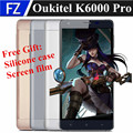 "Original K6000 OUKITEL PRO 5.5 ""OGS FHD Android 6.0 Octa Núcleo 4G LTE MTK6753 smartphone 13MP 3 gb ram 32 gb rom dual sim 6000 mah"