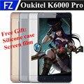 "Original OUKITEL K6000 PRO 5.5"" OGS FHD Android 6.0 MTK6753 Octa Core 4G LTE smartphone 13MP 3gb ram 32gb rom dual sim 6000mah"