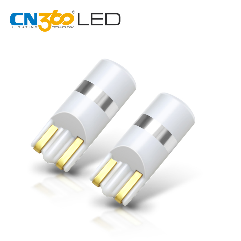 CN360 New Arrival 2pcs SMD3030 T10 Led W5W 168 194 Car LED Wedge Bulb Dome License Plate Auto Reading Parking Lights 6 Colors