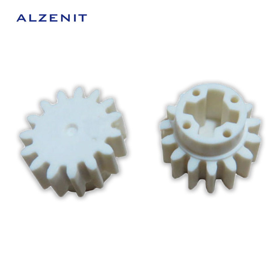 10Pcs/Lot ALZENIT 15T For HP 3600 3000 3505 3800 OEM New Fuser Drive Gear RC1-6285 RC1-6285 -000 Printer Arm Swing Parts On Sale compatible new fuser gear for hp 4250 4300 4350 rc1 3325 000 rc1 3324 000 10 pcs per lot