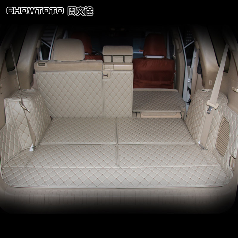CHOWTOTO AA Tapetes para Automóviles Esteras de Tronco de Surround - Accesorios de interior de coche - foto 1