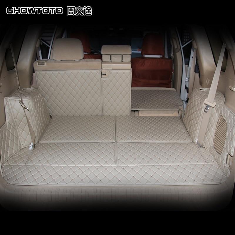 CHOWTOTO AA Auto Mats Especial Completo Surround Tronco Mats Para - Acessórios interiores do carro