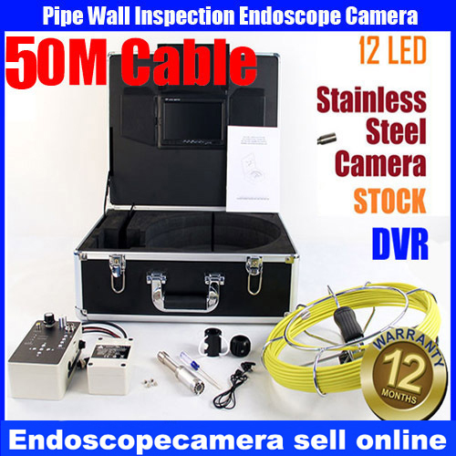 Drain Sewer Wall Cave Pipe Inspection DVR Camera Pipe Endoscope Borescope 30m Cable,Pipeline Sewage Snake Camera