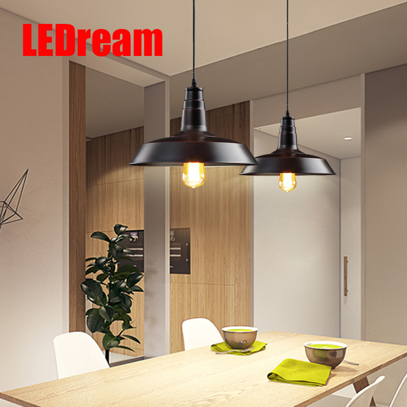 LOFT Pendant Lights  Pendant Lamp Retro Hanging Lamp Lampshade For Restaurant /Bar/Coffee Shop Home Lighting home decoration [ygfeel] village retro pendant lights american country style restaurant bar coffee shop lighting 3pcs e27 holder ac110v 220v