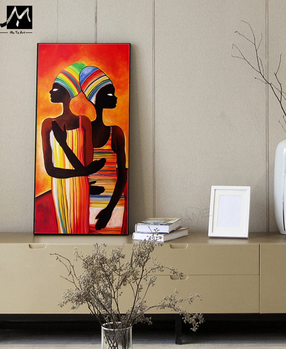 Popular African Paintings on Canvas-Buy Cheap African Paintings on ...