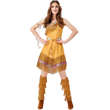 Umorden Women's Indian Maiden Pocahontas Costume for Teen Girls Native Princess Costumes Halloween Party Carnival Cosplay women girls superhero alien starfire teen titans go outfit cosplay halloween costume princess koriand r suit xmas birthday gift