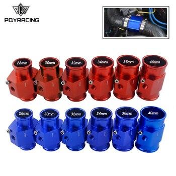 1Pc temperatura del agua sensor de temperatura del Tubo de unión de manguera del radiador adaptador tamaño 28mm / 30mm / 32mm / 34mm / 36mm / 38mm / 40mm