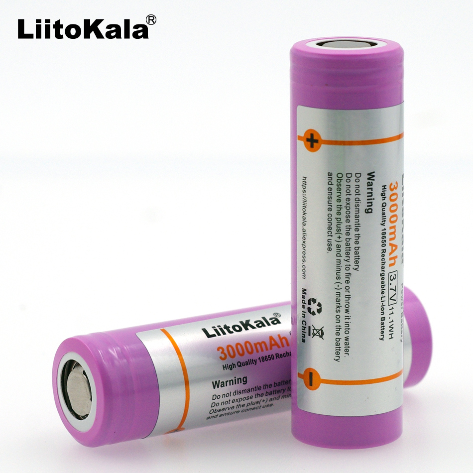 3PC. New original for <font><b>Samsung</b></font> SDI INR18650-<font><b>30Q</b></font> 3000 mAh 18650 rechargeable lithium battery <font><b>15A</b></font> discharge power is used for elec image