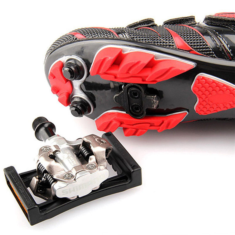 73e340d69 Pedal Cleats for Bike MTB SPD Shoe Adapter Clipless Kit Fits Shimano SH-51    56