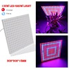 45W/135W LED Plant Grow Panel Light AC85-265V SMD3528 Red+Blue For Flowering Plant Indoor Grow Box Hydroponics Lamps