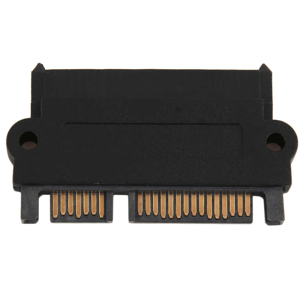 Professional SFF-8482 SAS To SATA 180 Degree Angle Adapter Converter Straight Head Perfect Fit Your Device Drop Shipping
