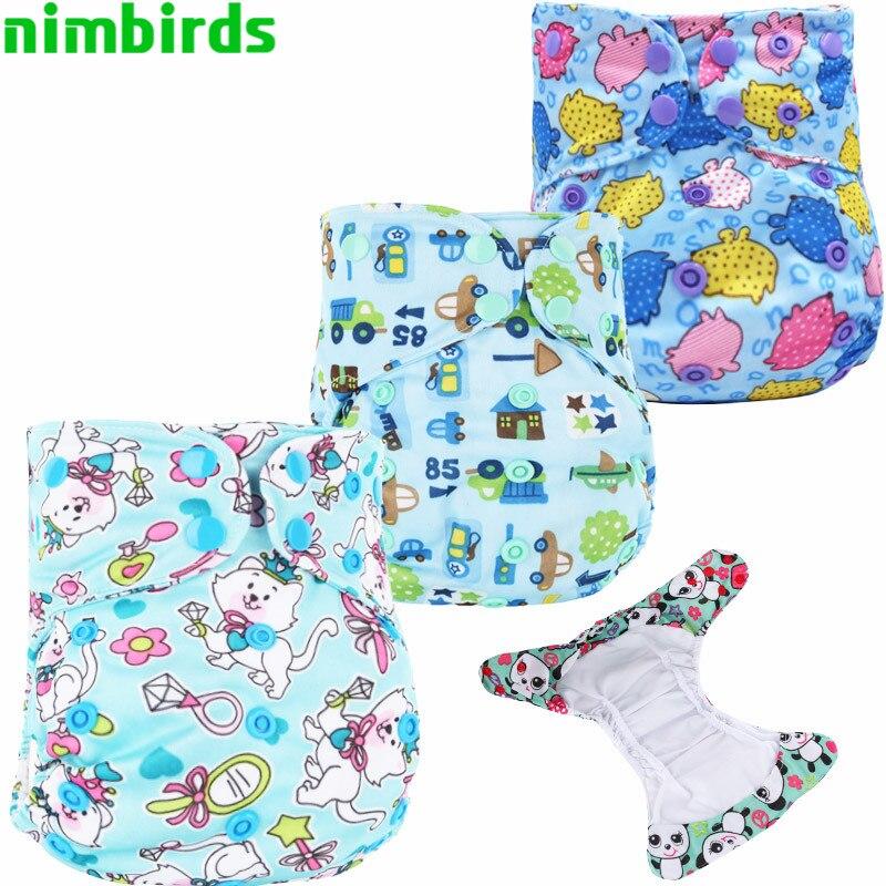 Bebé lavable Paño Reutilizable Bolsillo Nappy Doble Gusset Pañal - Pañales y entrenamiento para ir al baño