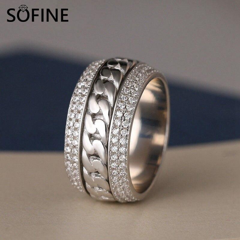 SOFINE շղթաներով ցիրկոններ Կանանց - Նուրբ զարդեր - Լուսանկար 1