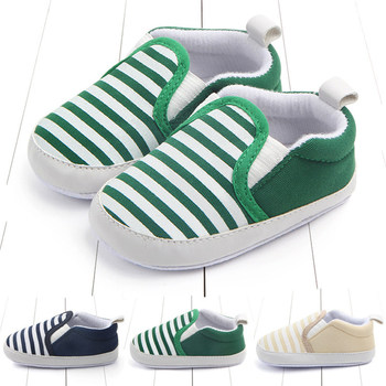 Baby Boys Kids Shoes Non-Slip Striped Toddlers Children First Walkers Bebes Zapatos Ninas Newborn Infantil Crib infant Shoes 1