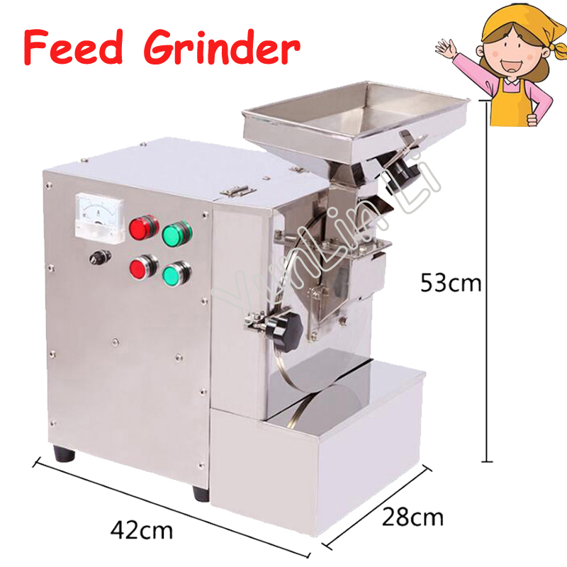 Feed Grinder for Nuts Almonds Commercial Milling Fat/ Peanuts/Sesameseeds /Beans/Spices Grasso Mill Machine XL-910 1pc al 310s 200rpm 450in lb110v 220v power table feed auto power feed vertical mill machine auto feeder