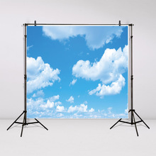 Tapestry wall hanging Blue sky white clouds Bedspread Dorm Cover Beach Towel Backdrop Home Room Wall Art Decordecoracion GT16