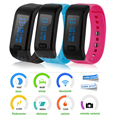 Bluetooth Smartband Bracelet Moving Up Waterproof Passometer Sleep Fitness Smart Band IOS Android Wristband PK Miband 2 H3 D21