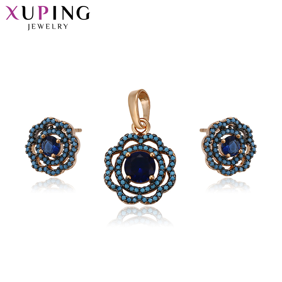 Xuping Flowers Jewelry Sets...