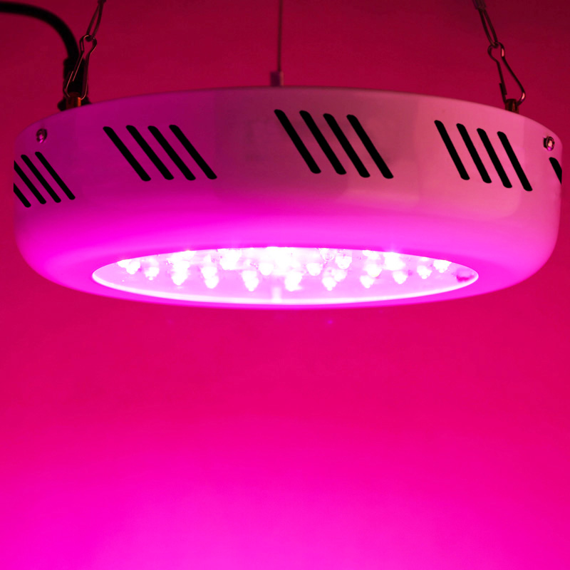 Full Spectrum 40W UFO LED Grow Light Hydroponics Plant Lamp Ideal for All Phases of Plant Growth and Flowering(85 265V)