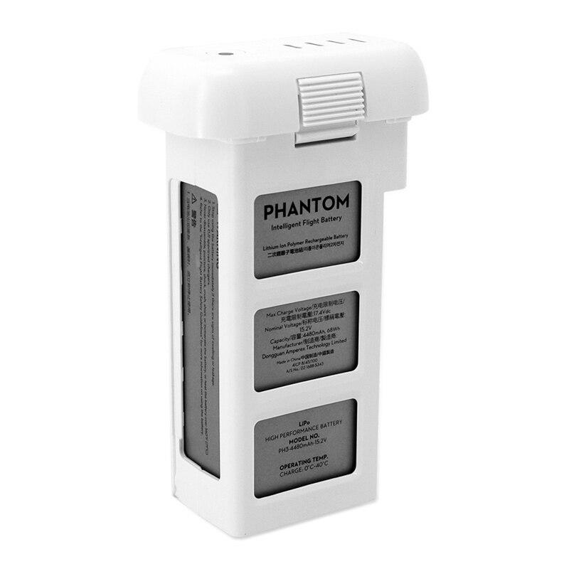 Оригинальный DJI серия Phantom 3 Professional дополнительно Drone Интеллектуальный полета Батарея 4480 мАч 15,2 В LiPo4s высокое Ёмкость batteria