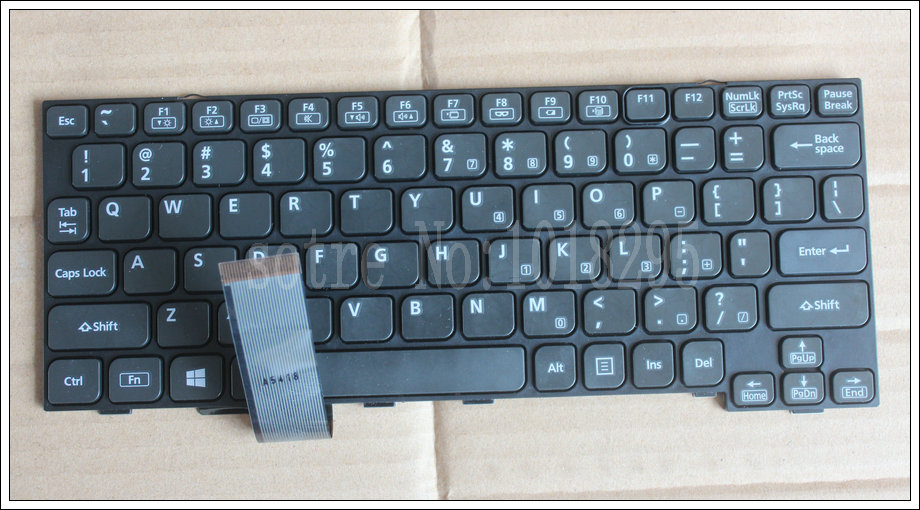 New US Laptop Keyboard for Panasonic CF-54A CF-54 HMB8359CPB010A SN1504250140  Without backlight отсутствует готовим в горшочках