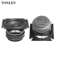 цены 2pcs TONLEN 2.5 inch Full Range Speaker 4 ohm 15W HIFI Bluetooth Music Speakers Portable Loudspeaker Horn DIY Audio Home Theater