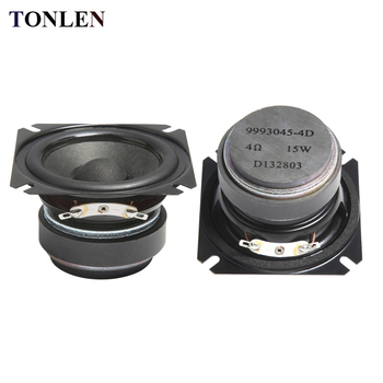 2pcs TONLEN 2 5 inch Full Range Speaker 4 ohm 15W HIFI Bluetooth Music  Speakers Portable Loudspeaker Horn DIY Audio Home Theater