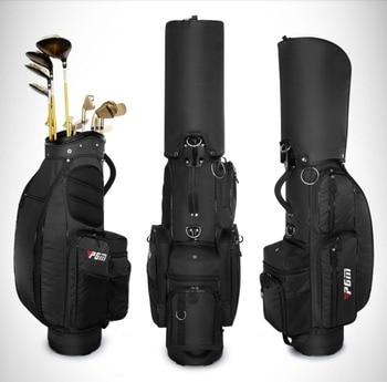 PGM Golf Bags Men Multifunctional Standard Golf Caddy Bag Large Capacity Custom Nylon Golf Aviation Bags D0479