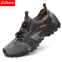 2019 New Outdoor Hiking Shoes Man Sport Running Shoes Men Casual Shoes Men Sneakers Breathable Mesh Climbing Footwear Trainers