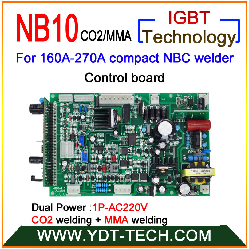 NB10 160A 270A compact type welding machine boards set with IGBT control