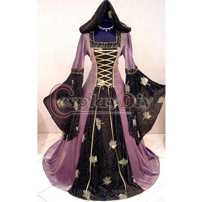 long dress plus size renaissance