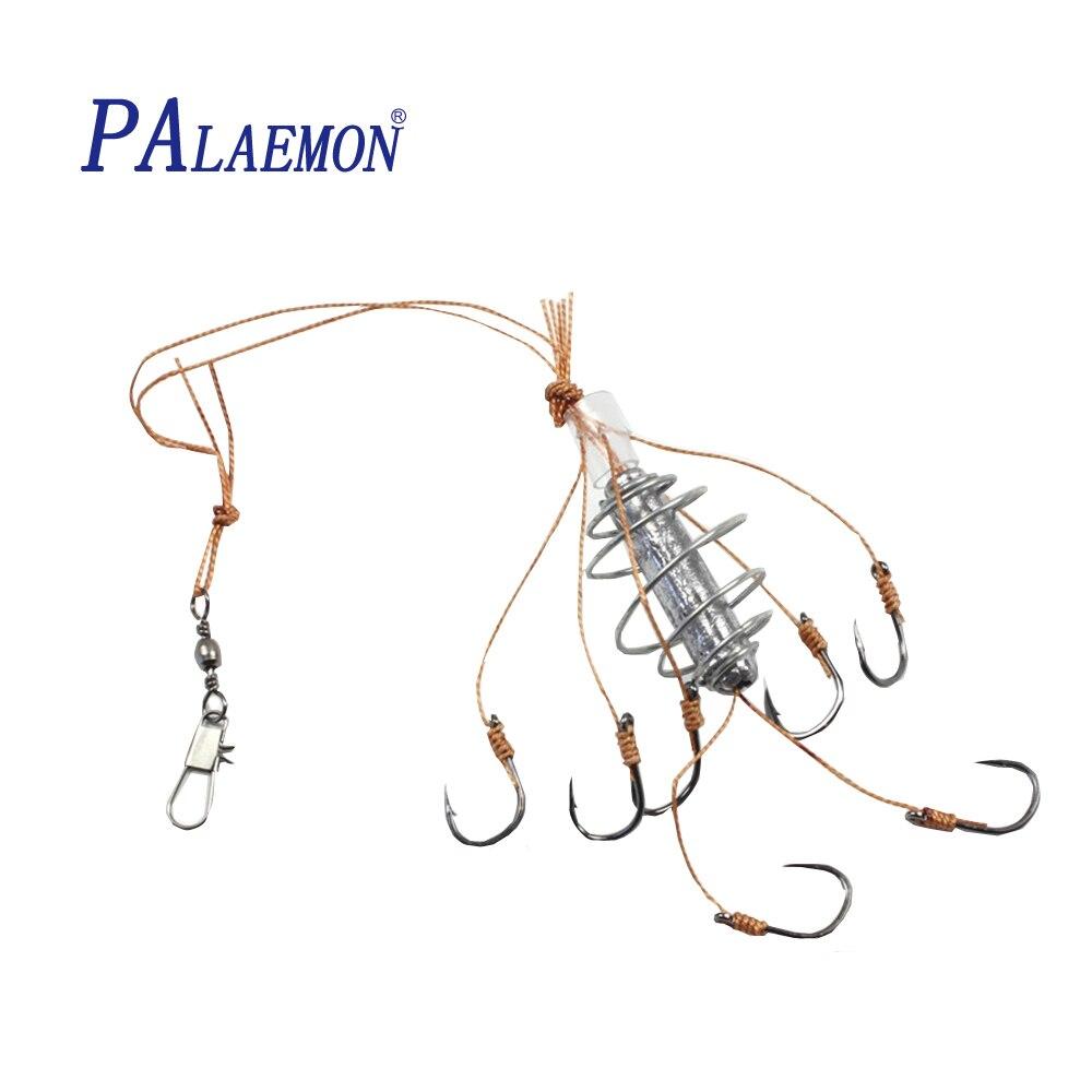 PALAEMON 4pcs/lot Carp Fishing Explosion Hooks ISE fishing tackle Accessaries