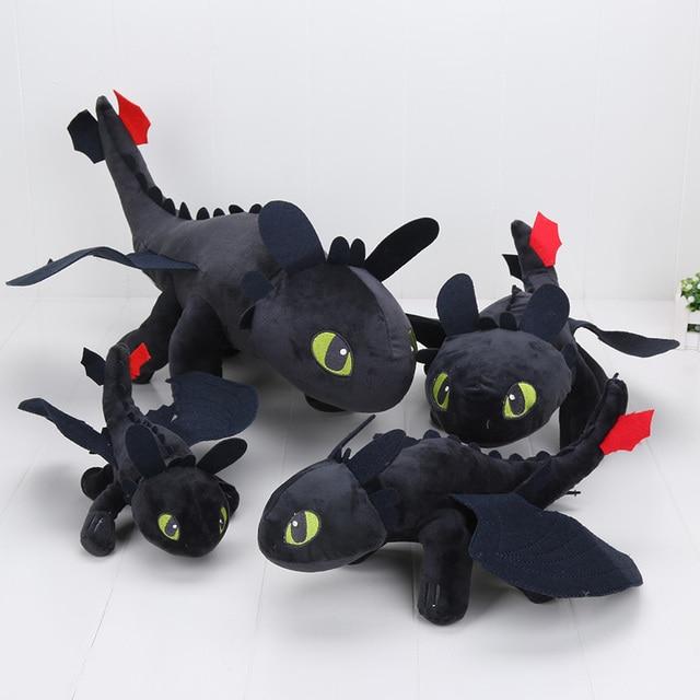 how to train your dragon plush toothless night fury black dragon stuffed plush toys christmas doll - How To Train Your Dragon Christmas