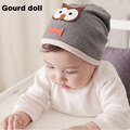 2016 New Baby Boys Girls Hat Cotton Blends Caps Newborn Infant Baby kids Hat Owl Print For Baby Clothing Accessories