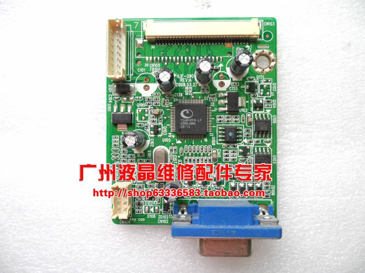 Free Shipping>Original 100% Tested Working   AL1603W driver board ILIF-090 motherboard 491481300100R decode board free shipping 831w 913w driver board 715g3244 m01 004 004l 100% tested working