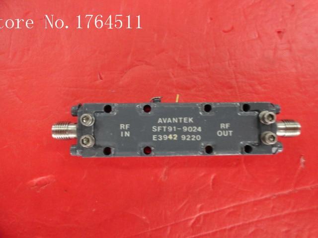[BELLA] AVANTEK SFT91-9024 12V SMA Supply Amplifier