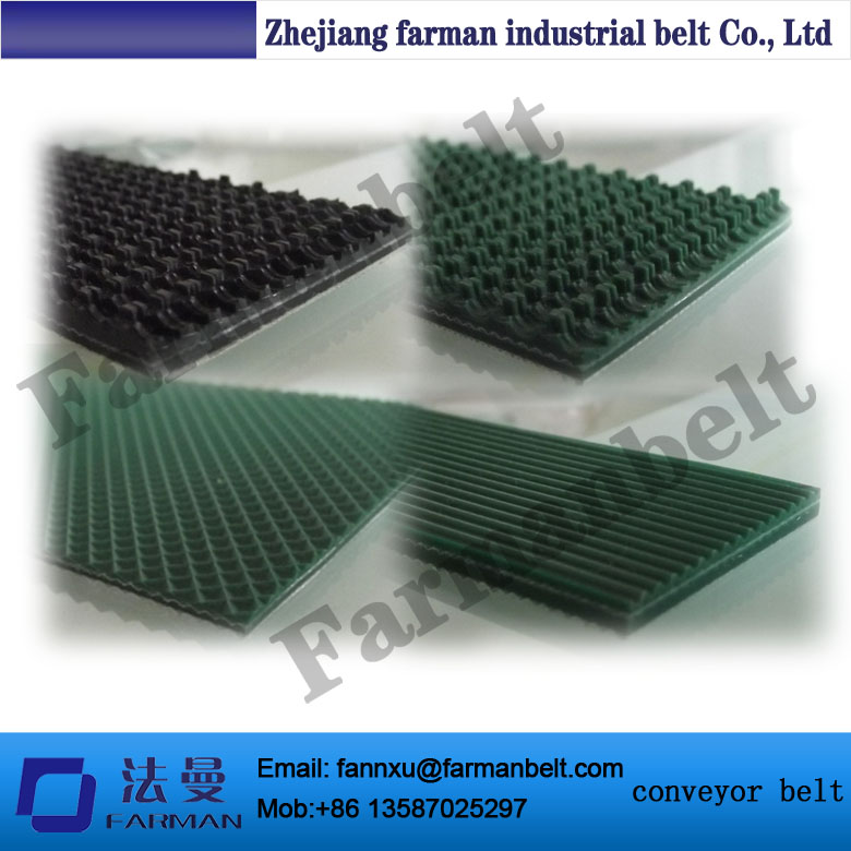 Grass Pattern Rough Surface Green PVC Skid Conveyor Belts fashion leaf pattern decorative front back pvc stickers set for iphone 6 4 7 grass green