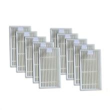 10 шт. Премиум HEPA фильтр части для ILIFE V3s V5 V5s V3s Pro Роботизированный пылесос Прямая поставка