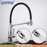 GAPPO küche wasserhahn küche wasserhähne filter armaturen mixer deck montiert küche wasserfilter wasserhahn griferia