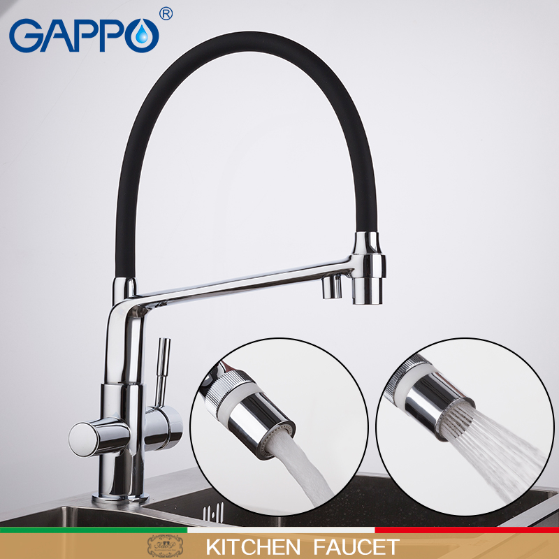 GAPPO kitchen faucet kitchen water taps filter faucets mixer deck mounted kitchen water purifier faucet griferia
